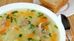 «Суп с рисом и картошкой» - приготовления блюда - шаг 13
