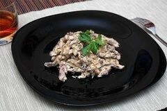 «Бефстроганов» - приготовления блюда - шаг 6