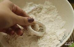 «Кольца кальмаров в кляре» - приготовления блюда - шаг 5
