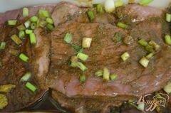 «Говядина с маринованным луком» - приготовления блюда - шаг 2