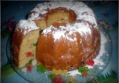 «Кекс с изюмом и цукатами» - приготовления блюда - шаг 8