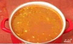 «Суп фасолевый с копченостями» - приготовления блюда - шаг 10