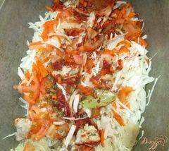 «Капуста тушеная со свининой» - приготовления блюда - шаг 8