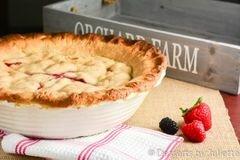 «Сладкий ягодный пирог» - приготовления блюда - шаг 8