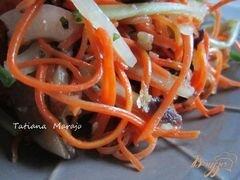 «Морковный салат с баклажанами» - приготовления блюда - шаг 6