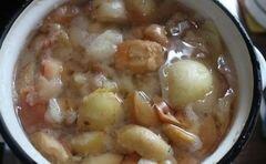 «Яблочный кисель» - приготовления блюда - шаг 2