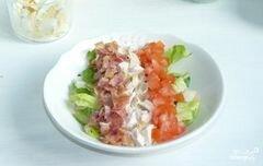 """«Салат """"Кобб""""» - приготовления блюда - шаг 6"""