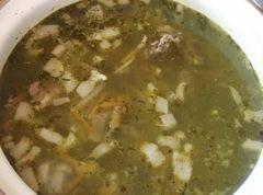 «Бараний суп с гречкой» - приготовления блюда - шаг 10