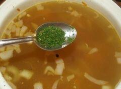 «Бараний суп с гречкой» - приготовления блюда - шаг 8