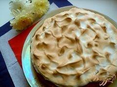 «Лигурийский лимонный пирог» - приготовления блюда - шаг 7