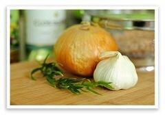«Белая фасоль с луком» - приготовления блюда - шаг 1