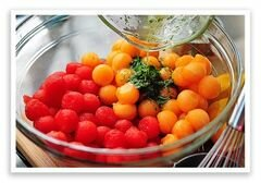 «Летний салат» - приготовления блюда - шаг 10