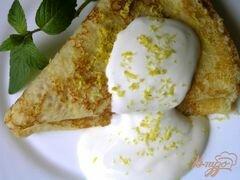 «Лимонные блинчики» - приготовления блюда - шаг 8