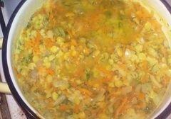 «Паштет из гороха и овощей» - приготовления блюда - шаг 6