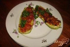 «Фаршированные кабачки» - приготовления блюда - шаг 5