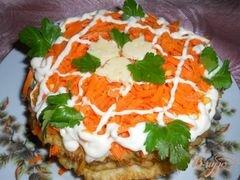 «Тортик из капустных блинчиков» - приготовления блюда - шаг 6