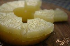 «Десерт с ананасом и вишней» - приготовления блюда - шаг 4