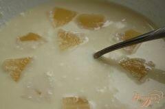 «Десерт с ананасом и вишней» - приготовления блюда - шаг 6