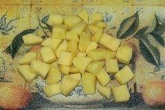 «Овощной суп из тыквы» - приготовления блюда - шаг 2