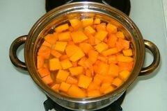 «Овощной суп из тыквы» - приготовления блюда - шаг 4