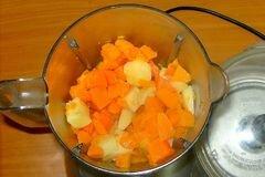 «Овощной суп из тыквы» - приготовления блюда - шаг 5