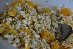 «Салат с перловкой , апельсинами и авокадо» - приготовления блюда - шаг 2