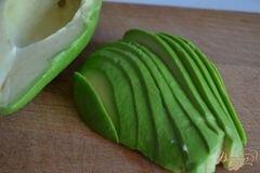 «Салат с перловкой , апельсинами и авокадо» - приготовления блюда - шаг 3