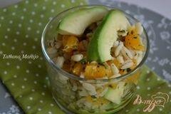 «Салат с перловкой , апельсинами и авокадо» - приготовления блюда - шаг 5