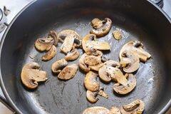 «Отличный овощной салат с грибами» - приготовления блюда - шаг 1