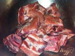 «Запеченные свиные ребрышки» - приготовления блюда - шаг 2