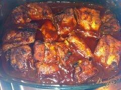 «Запеченные свиные ребрышки» - приготовления блюда - шаг 5
