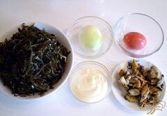 «Морская капуста с мидиями» - приготовления блюда - шаг 1
