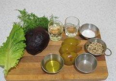 «Свекольный салатик» - приготовления блюда - шаг 1
