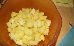 «Рагу по-болгарски» - приготовления блюда - шаг 4