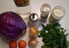 «Салат из капусты» - приготовления блюда - шаг 1