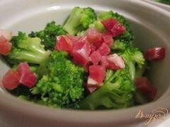 «Флан с брокколи» - приготовления блюда - шаг 4