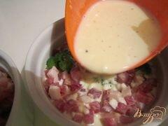 «Флан с брокколи» - приготовления блюда - шаг 5
