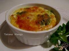«Флан с брокколи» - приготовления блюда - шаг 7