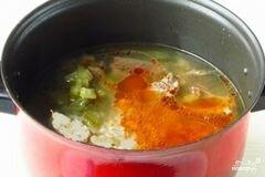 «Рассольник с фасолью» - приготовления блюда - шаг 9