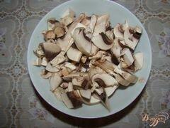«Спагетти с грибами и помидорами» - приготовления блюда - шаг 2