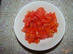 «Спагетти с грибами и помидорами» - приготовления блюда - шаг 3