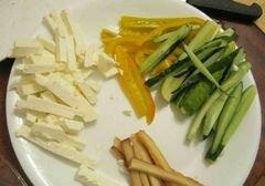 «Роллы с рыбой, сыром и перцем» - приготовления блюда - шаг 1