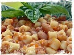 «Паста с фасолью» - приготовления блюда - шаг 10