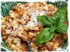 «Паста с фасолью» - приготовления блюда - шаг 12