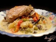 «Рагу выручалочка» - приготовления блюда - шаг 7