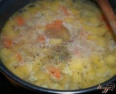 «Айнтопф с репой (Kohlrübeneintopf)» - приготовления блюда - шаг 4