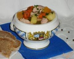 «Айнтопф с репой (Kohlrübeneintopf)» - приготовления блюда - шаг 5