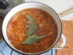 «Український борщ» - приготовления блюда - шаг 10
