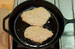 «Куриные отбивные по-итальянски» - приготовления блюда - шаг 3