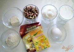 """«Шоколадный крем """"Нутелла"""" с орехами» - приготовления блюда - шаг 1"""